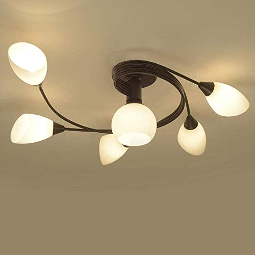Country Style LED Embedded Creative Living Room Plafondlamp Room Lamp Slaapkamer Plafond (110V)